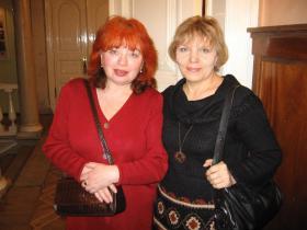 Ира Резвова и Ольга Андрющенко