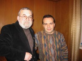 С Виктором Шендеровичем
