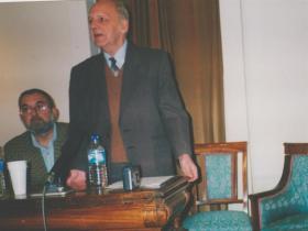 Писатель Лазарь Шерешевский