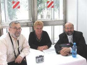 С Аллой Баух  и Марком Котлярским