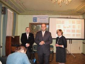 Директор ИКЦ  Карми Эльберт и Р. Веселова