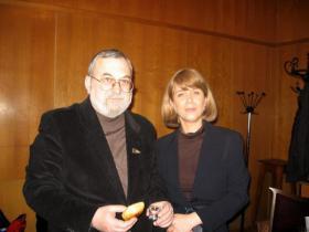 С Ирой Левитанской